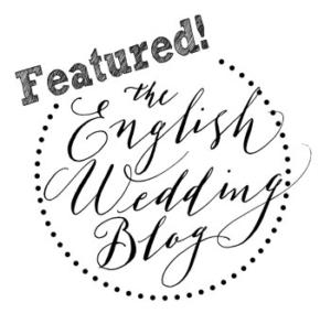 the english wedding blog badge