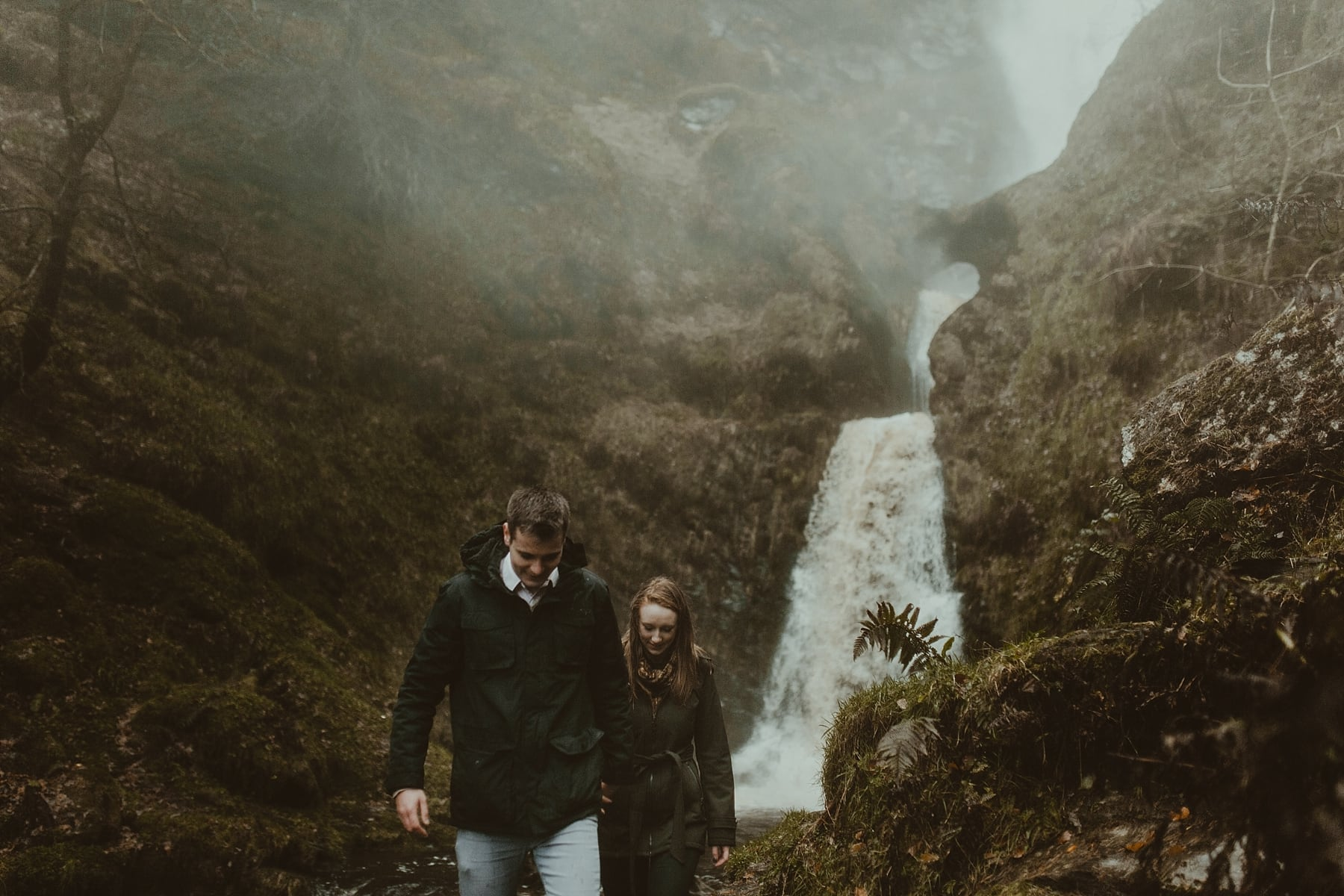 Waterfall Engagement Shoot