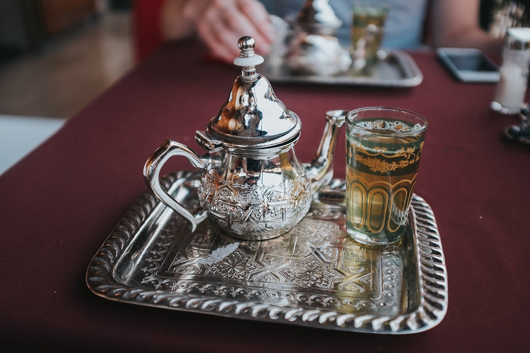 mint tea, marrakech