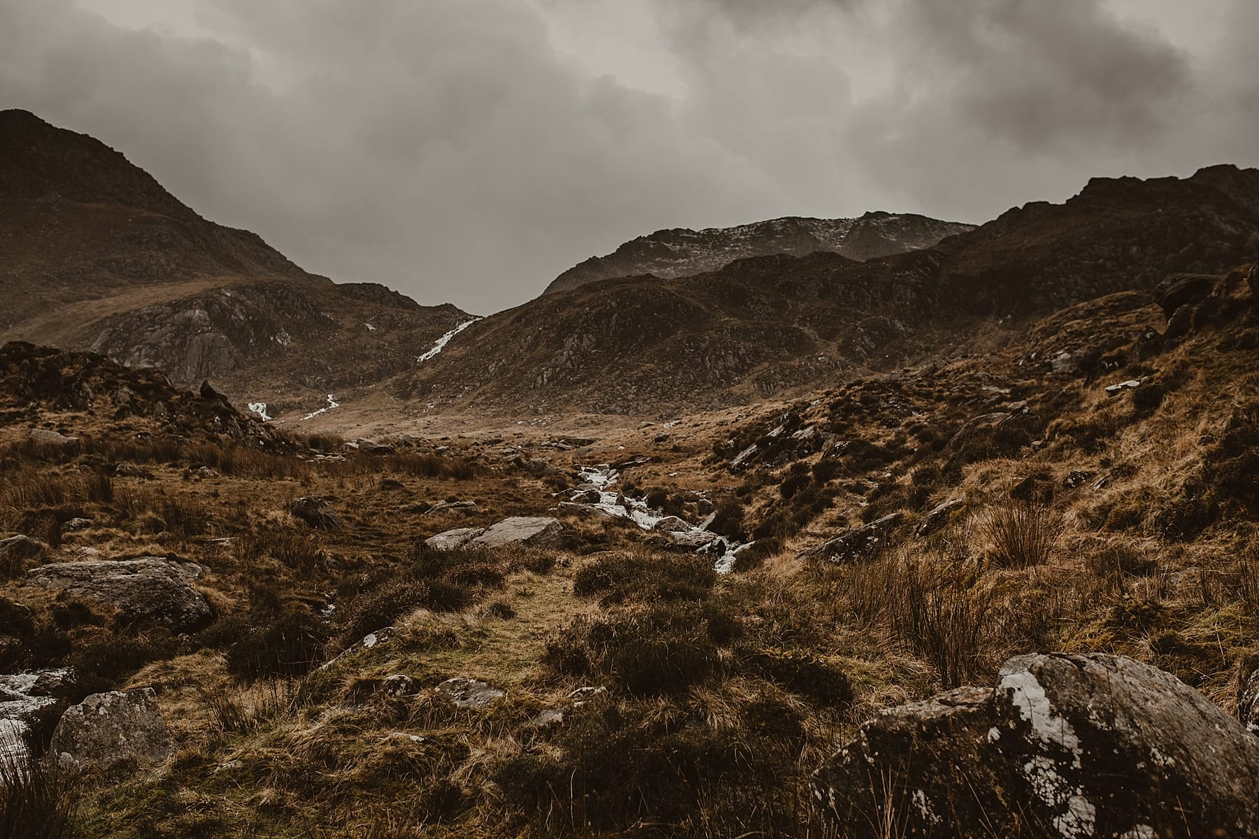 Mountain landscape photography North Wales